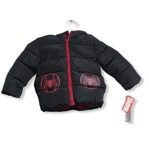 NWT Marvel Toddler Jacket